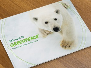 Greenpeace Welcome Brochure
