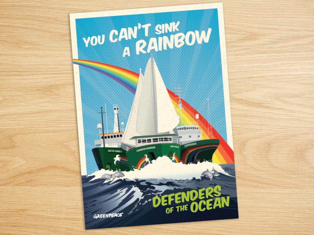 Greenpeace Rainbow Warrior Appeal