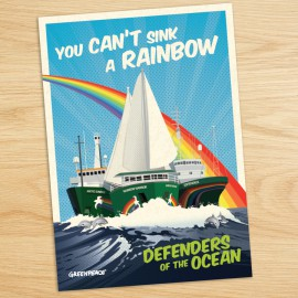 Greenpeace Rainbow Warrior Appeal