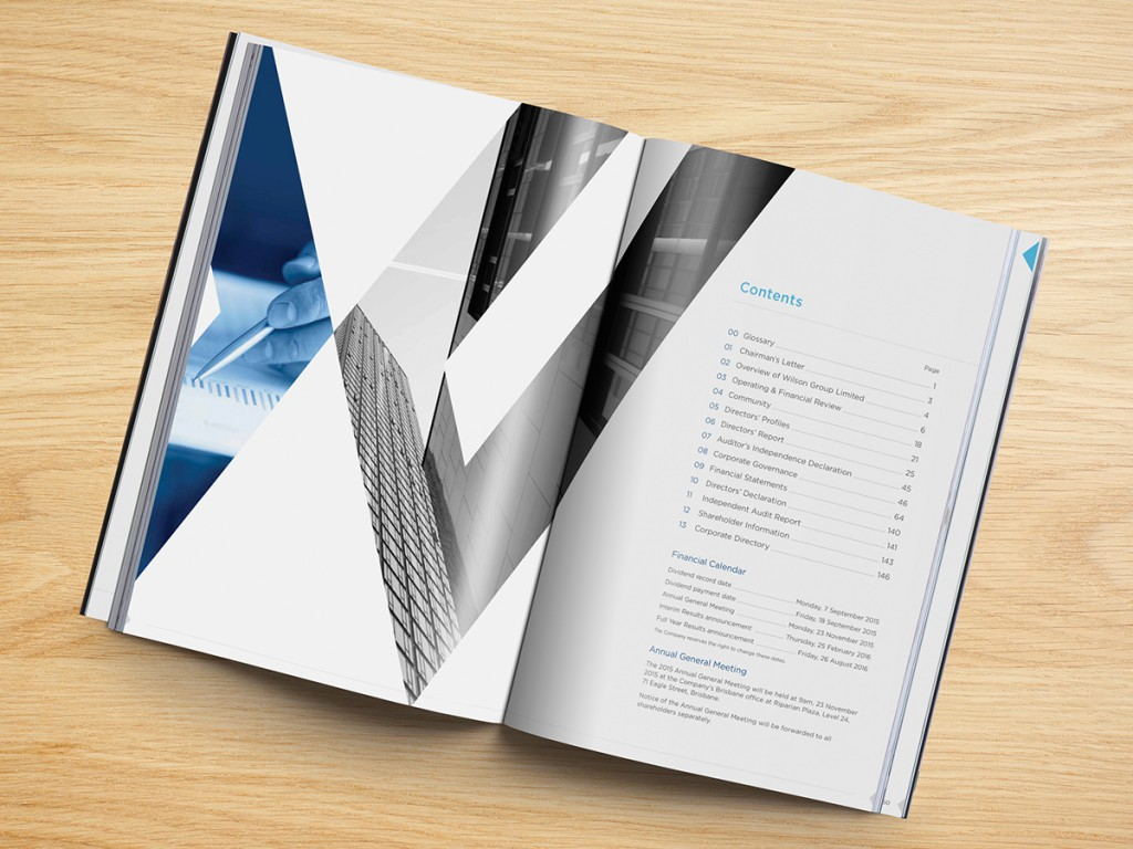 Wilson Group Limited Annual Report