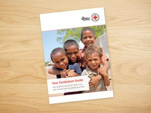 Red Cross Regular Giver Collateral