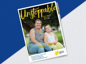 Cancer Council – Unstoppable Magazine