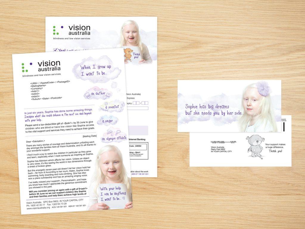 Vision Australia Campaign