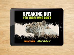 Greenpeace – Web Banners